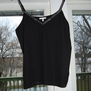Maurices black dressy tank top NWOT